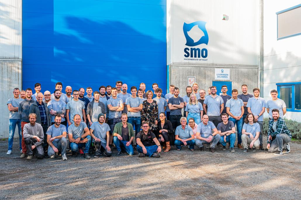 SMO machines groupshot
