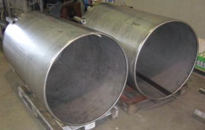 Open vaten RVS Machinebouw SMO