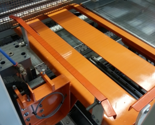Picking box on trolley system SMO Machinebouw op maat
