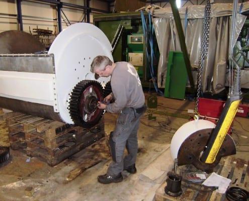 Revisie deegmenger Machinebouw op maat SMO (1)
