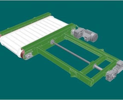 Verdeeltransportband Machinebouw op maat SMO (1)