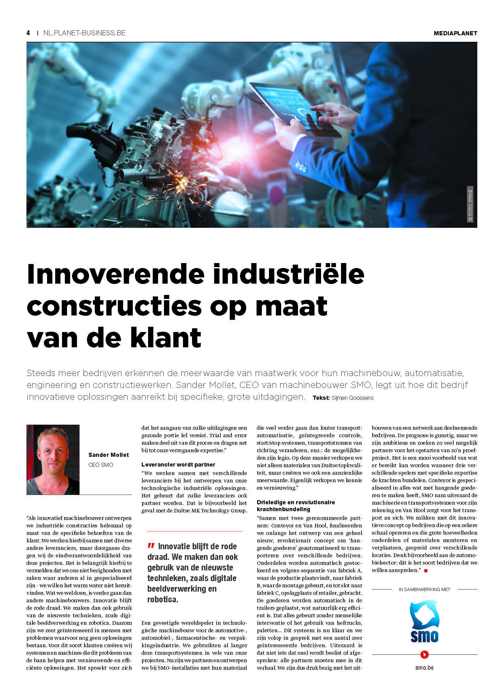Trendsmagazine Supply Chain machinebouwer SMO