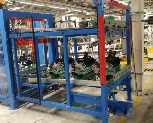 Karakuri rekken - SMO machinebouwer op maat