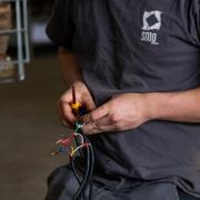 Machine elektrisch gedeelte SMO machine maken op maat